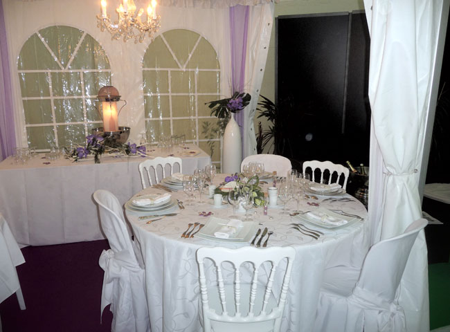 Location table ronde chaise pour mariage - Location de chaise pour mariage ...